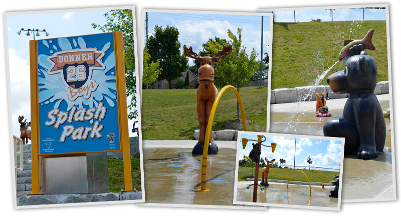 Bonner Boys Splash Pad